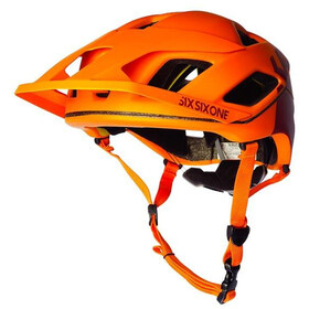 SixSixOne EVO AM Patrol Kask rowerowy, autumn orange